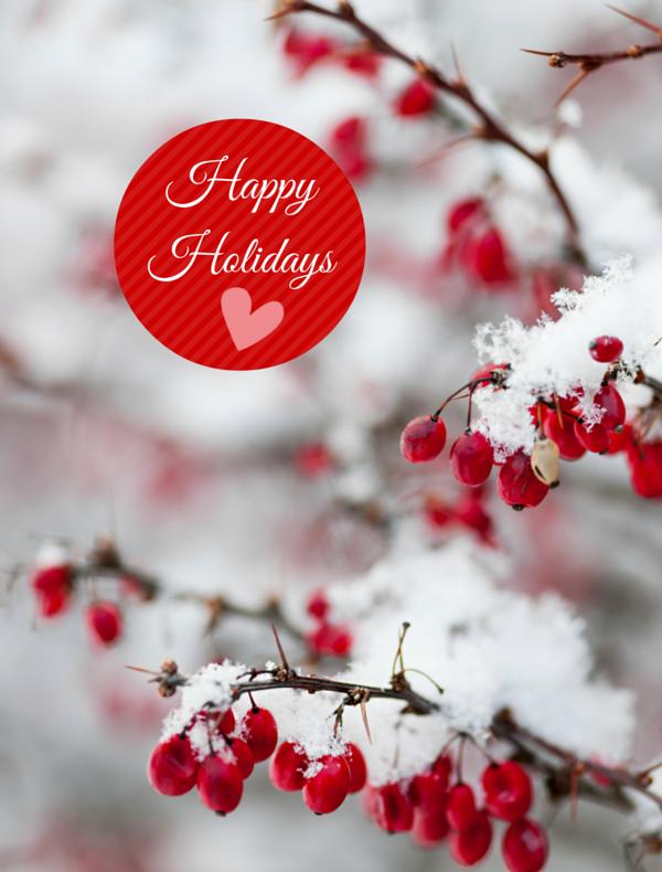 Happy holidays-POS w heart
